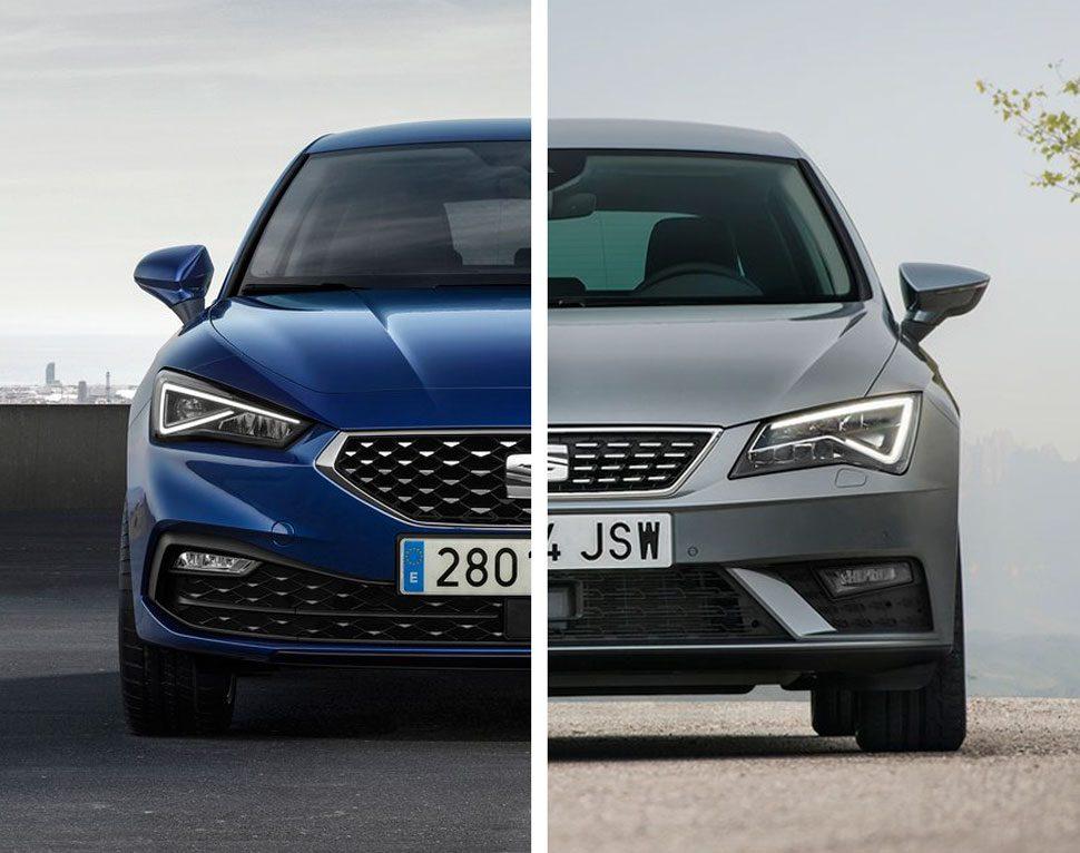Vergelijking: de nieuwe Seat Leon vs. de oude