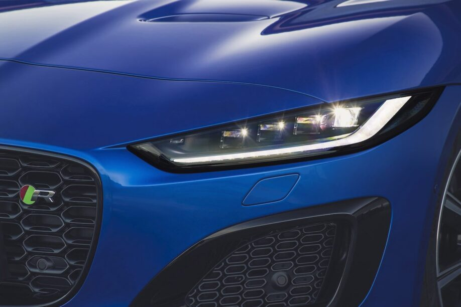 Koplamp nieuwe Jaguar F-Type