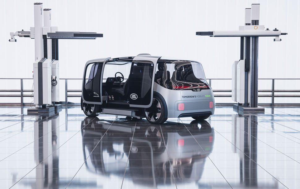 jaguar land rover concept project vector
