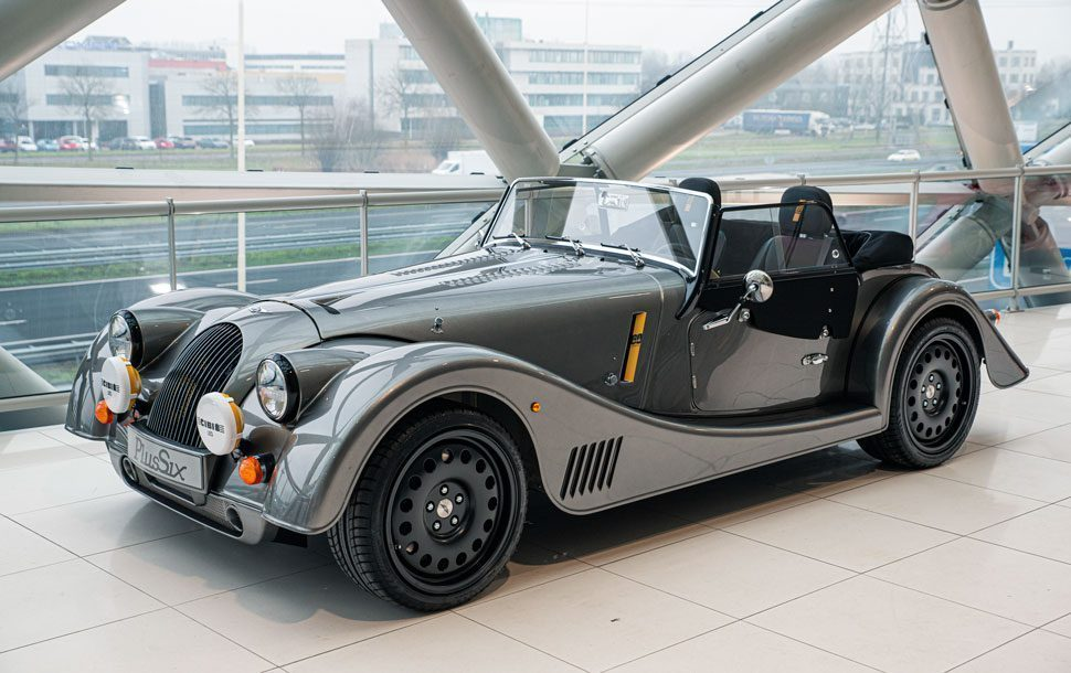 Morgan Plus Six Blue LE60 Special Edition