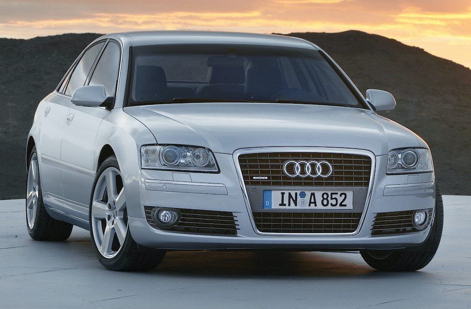 Audi A8 single frame grille