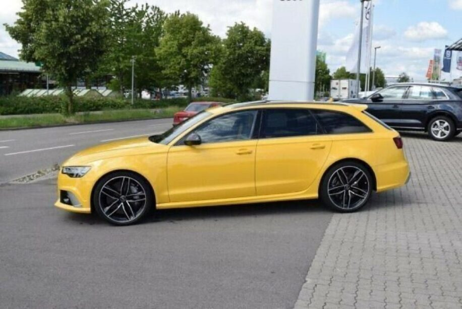 Audi RS6 Performance Speed Edition (C8) '18 (zijkant)