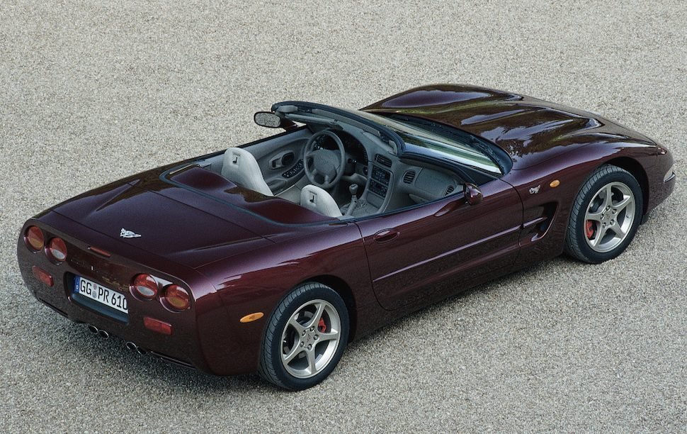 Chevrolet Corvette Convertible 50th Anniversary Edition (C5) '03