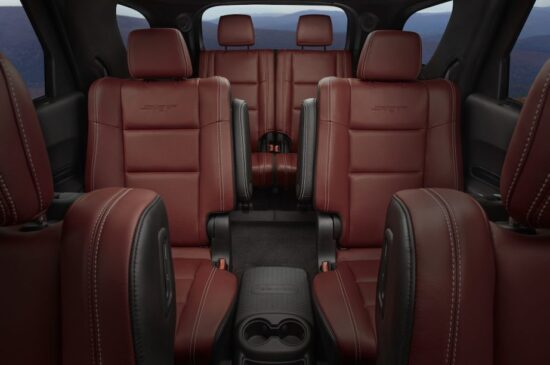 Dodge Durango SRT '20 (interieur)