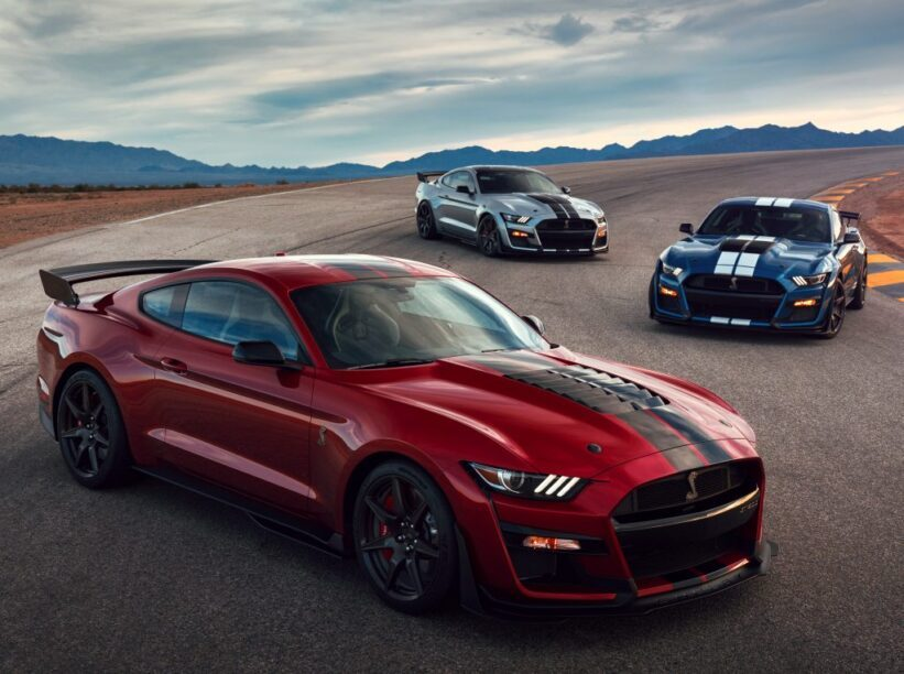 Ford Mustang Shelby GT500 '20
