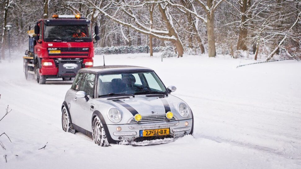 Martijns Mini voor alle modificaties in de sneeuw