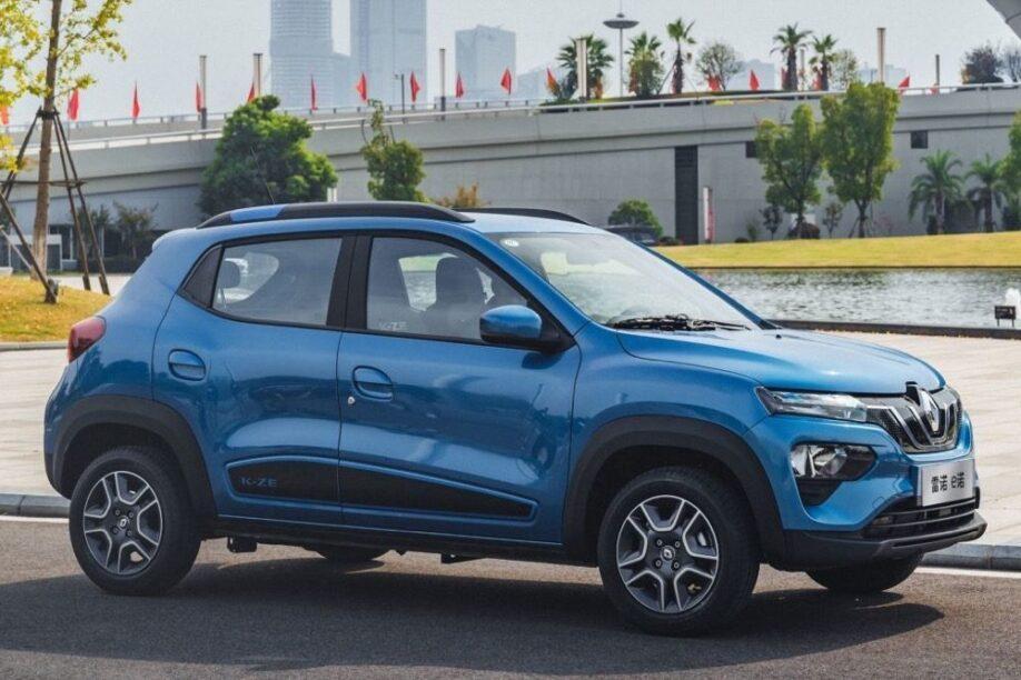Renault KZ-E (blau, voorzijde, China)