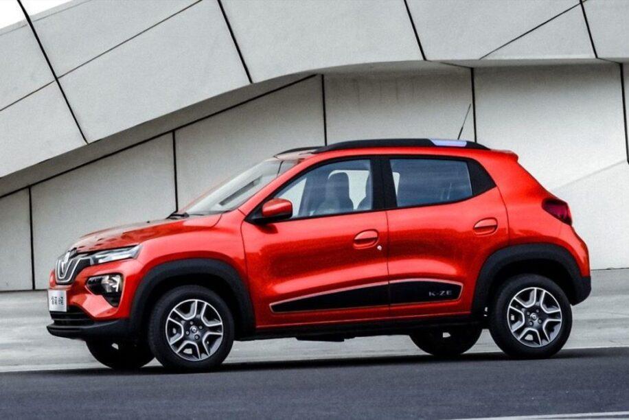Renault K-ZE (rood, voorzijde, Chinese specificatie)