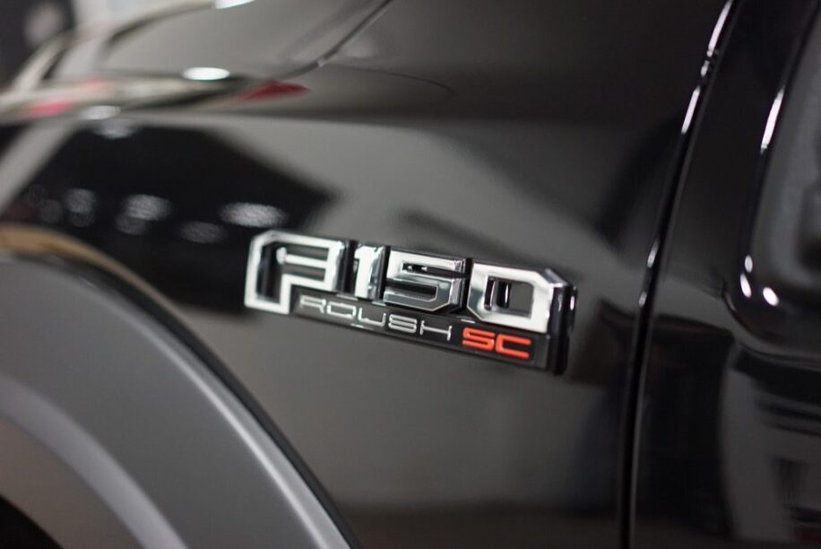Roush Ford Pickup badge