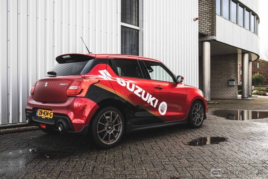 Suzuki Swift Sport chiptuning en wrap