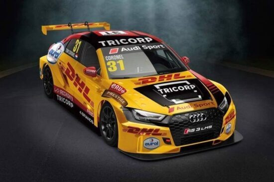 Audi RS3 van Tom Coronel