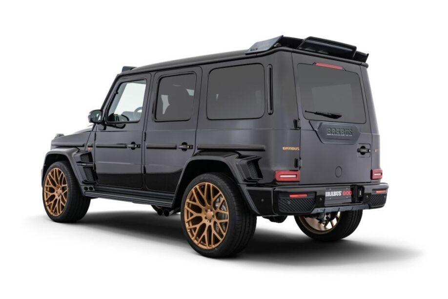Brabus 800 Black & Gold