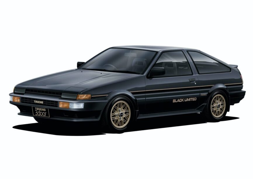 Toyota Sprinter Trueno GT-Apex Black Limited (AE86) '86