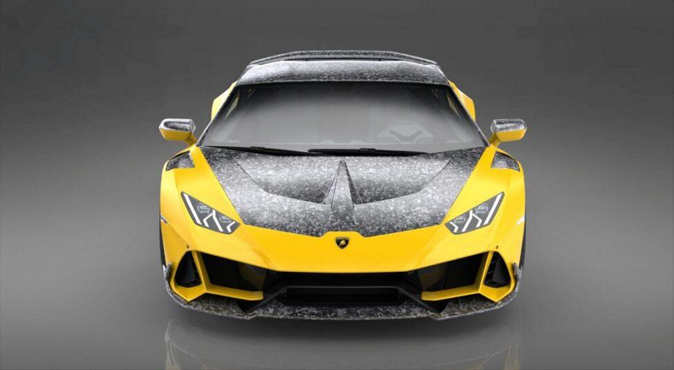 Lamborghini Huracan spoiler