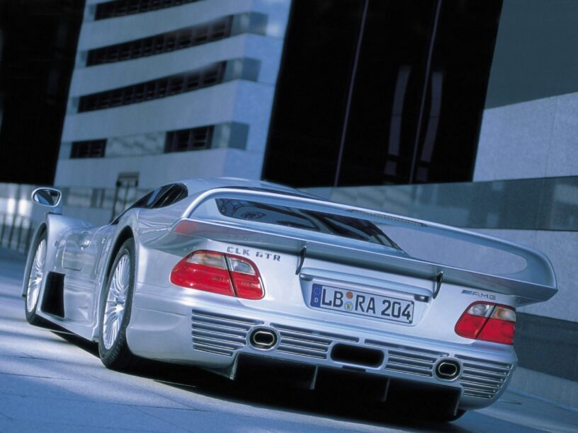 jaren '90 supercars - Mercedes-Benz CLK GTR AMG Strassenversion (W297)