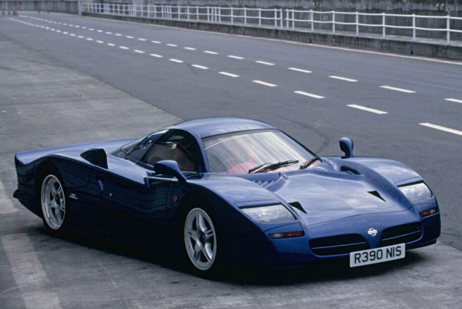 jaren '90 supercars - Nissan R390 GT1