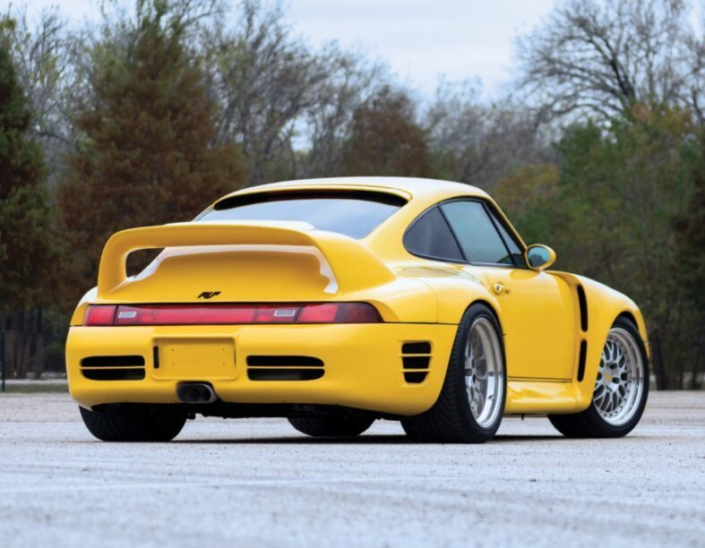 jaren '90 supercars - Ruf CTR 2 Sport (993)