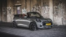 MINI Cooper S Emerald Grey met Leder Chester Malt Brown