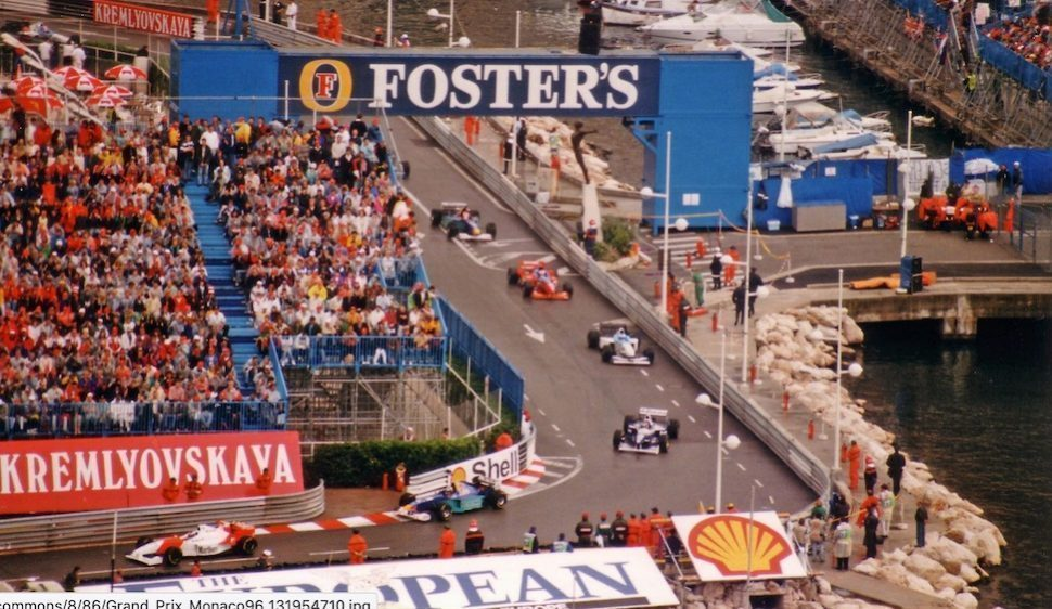 Formule 1 Monaco 1996