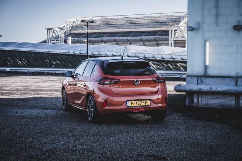 Opel Corsa-e, een van de elektrische auto's die in 2020 te bestellen is