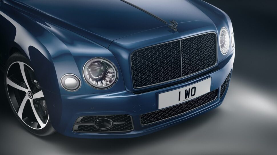 Bentley Mulsanne productie