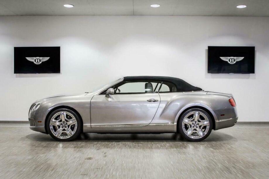 Dikke cabriolets - Bentley Continental GT Convertble