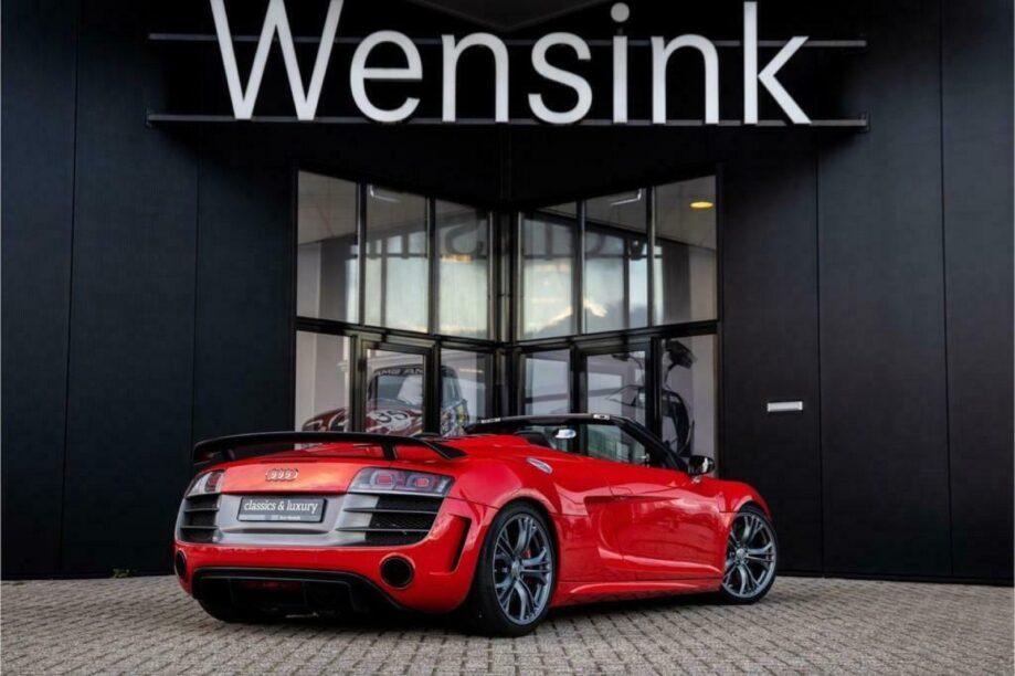 Audi R8 GT Spyder quattro