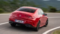 Mercedes CLA elandtest