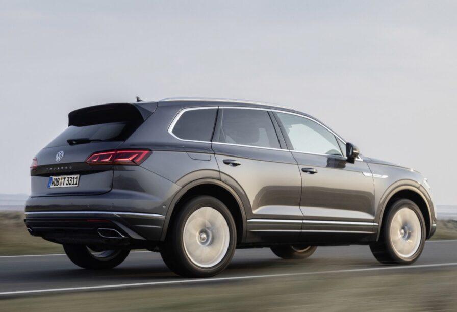 Volkswagen V8 diesel - Touareg achterzijde