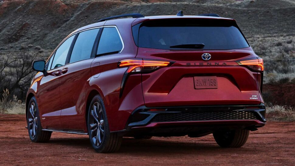 Nieuwe Toyota Sienna