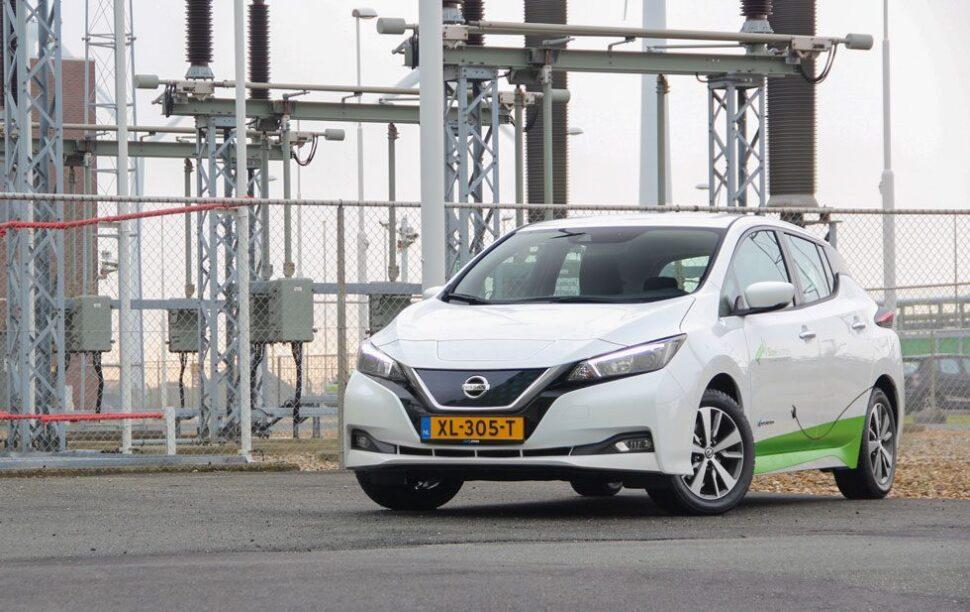 Nissan Leaf, een van de goedkoopste elektrische auto's