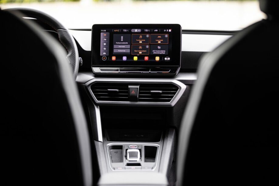 Touchscreen Seat Leon 2020