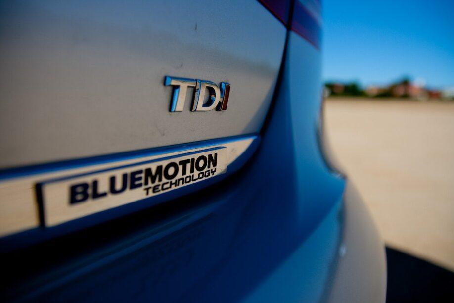 Badges van een Volkswagen Passat 1.6 TDI