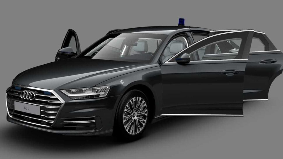Audi A8 L Security deuren
