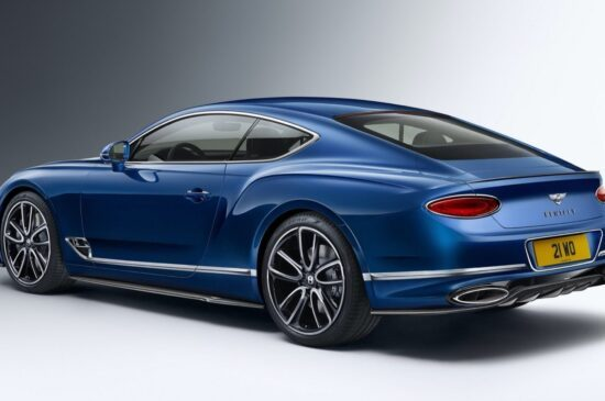 Bentley Continental GT Styling Specification.