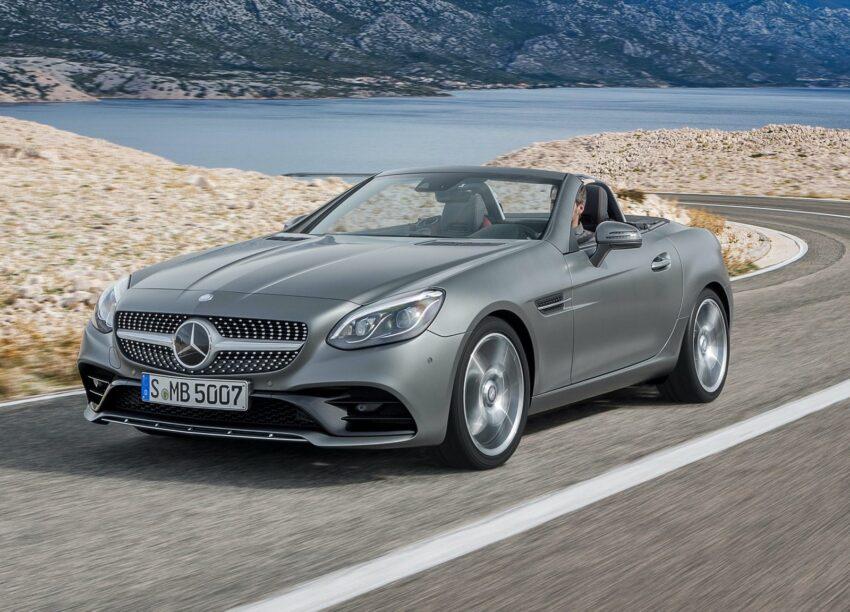 nieuwe naam bij de facelift - Mercedes-Benz SLC
