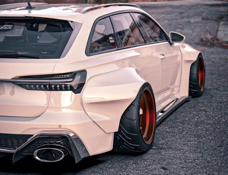 Audi RS6 widebody