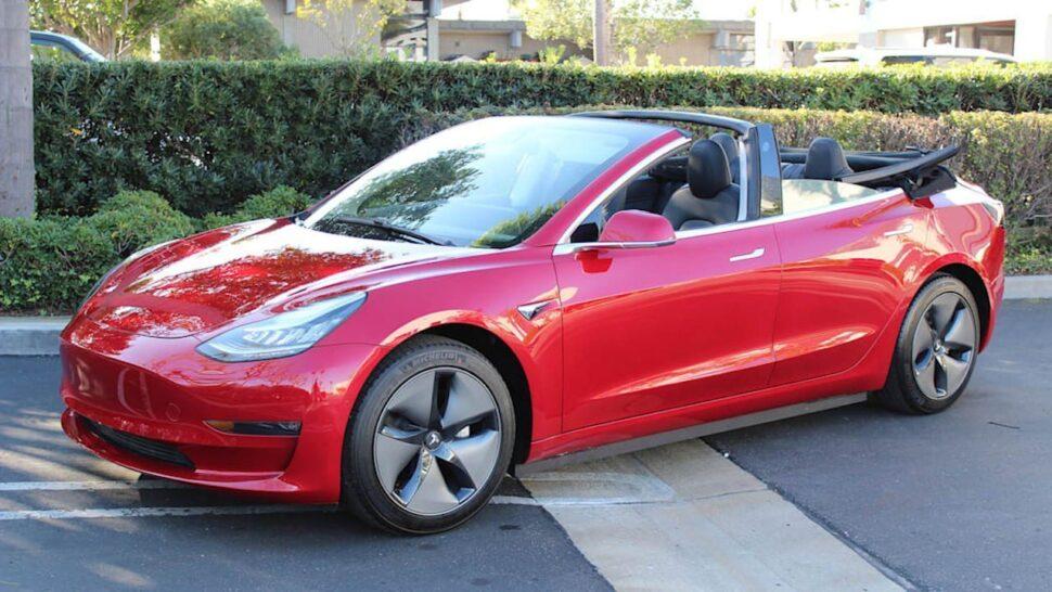 Tesla Model 3 Cabrio: maak populaire EV tot unieke EV