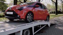 Toyota aygo thuisbezorging