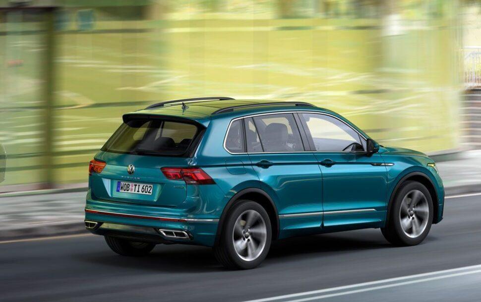 De vernieuwde Volkswagen Tiguan