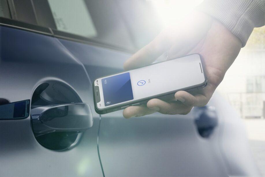 iPhone vervangt BMW autosleutel dichtbij