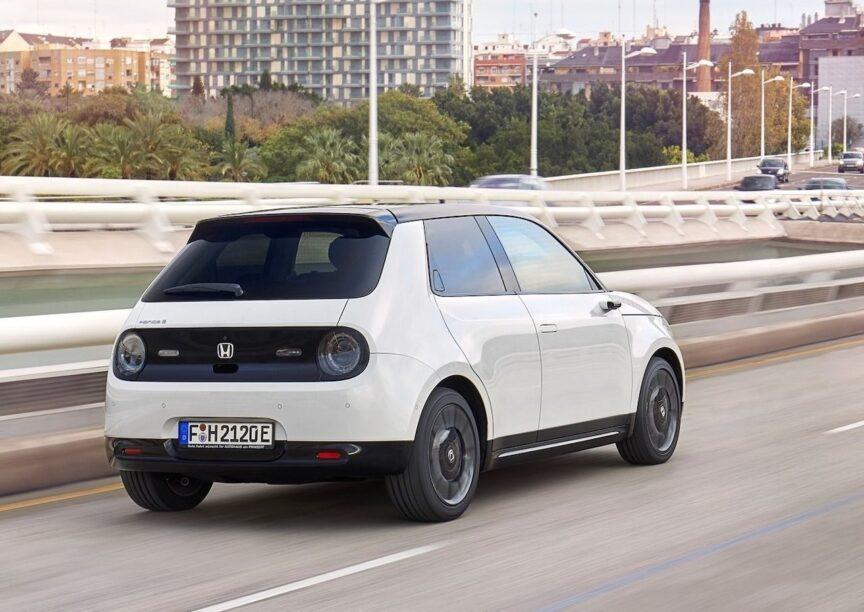 Elektrische auto levertijden - Honda e