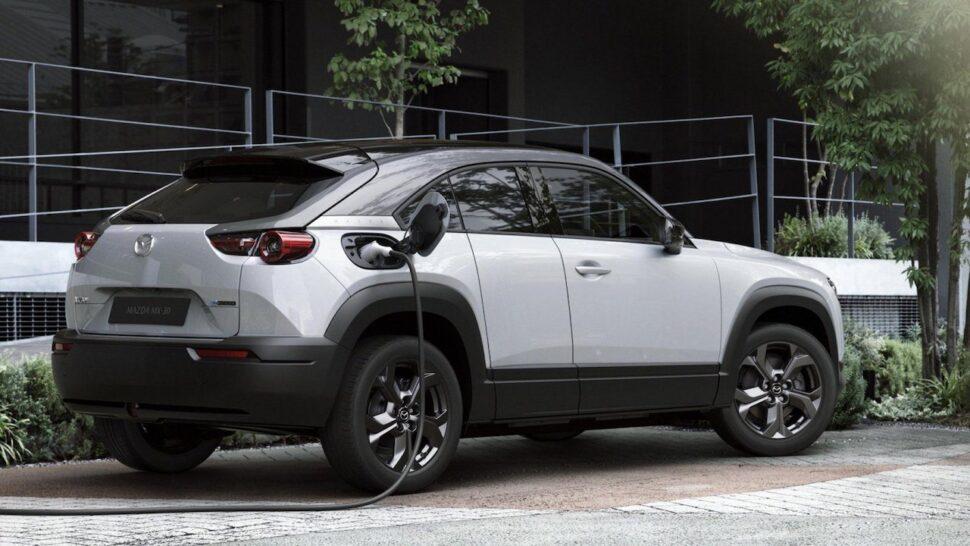 Elektrische auto levertijden - Mazda MX-30