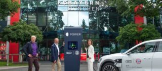 Audi elektrificatie Bayern München