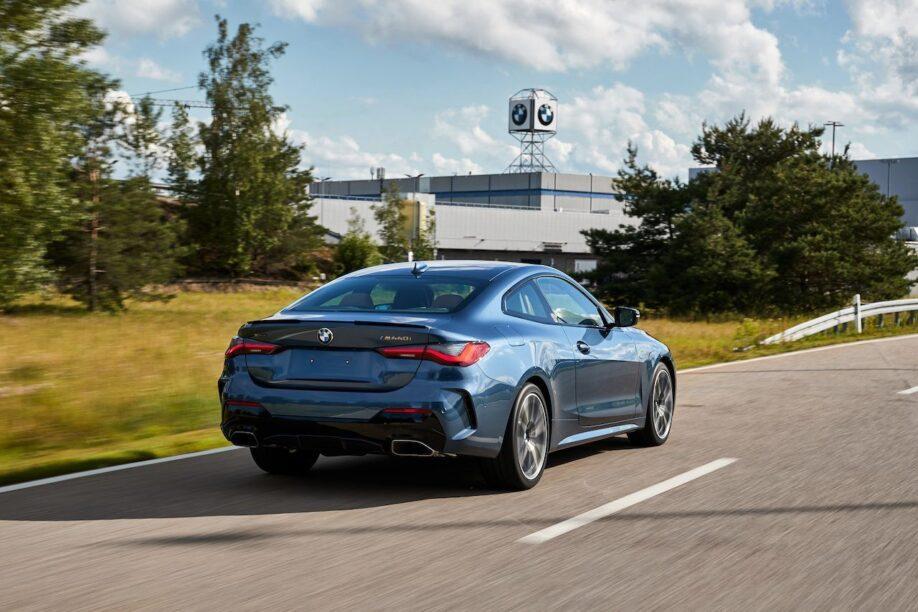 BMW 4 Serie prijs achterkant