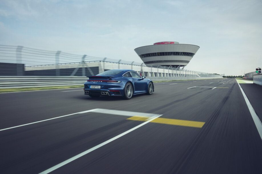 Porsche 911 Turbo rechte stuk