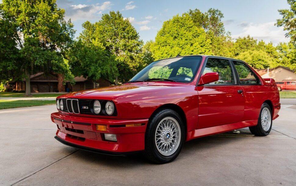 BMW E30 M3 occasion met een prijs van $250.000