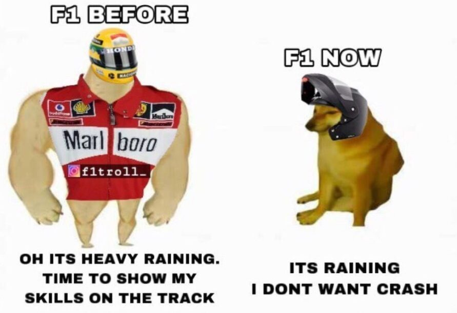 F1 before after
