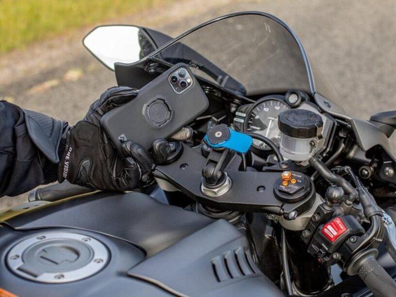 Telefoon navigatie motor quadlock