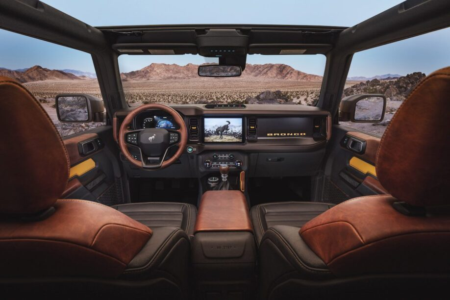 Ford Bronco - interieur